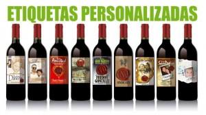 etiquetas de vinos personalizadas