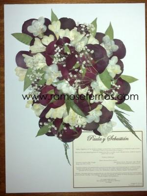 conservacion de ramos de novia - valparaiso