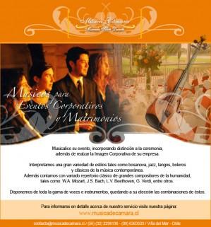 coro, cantantes, músicos en vivo para matrimonio civil y religioso