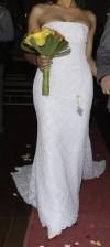 espectacular vestido de novia a menos de la mitad de su precio